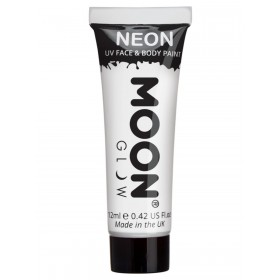 Moon Glow Intense Neon UV Face Paint White