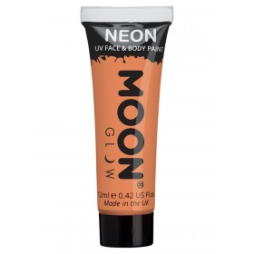 Moon Glow Pastel Neon UV Face Paint Orange
