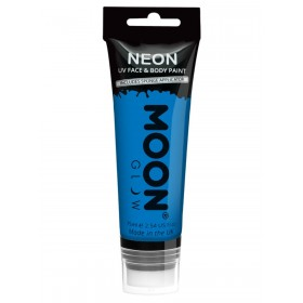 Moon Glow Supersize Intense Neon UV Face Paint Blue