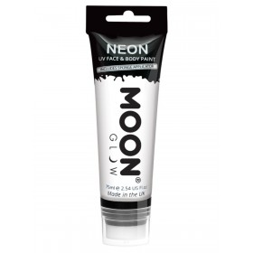 Moon Glow Supersize Intense Neon UV Face Paint White