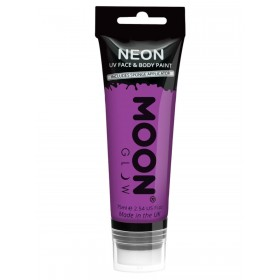 Moon Glow Supersize Intense Neon UV Face Paint Purple