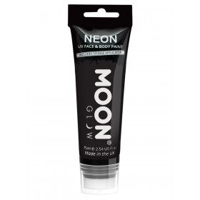 Moon Glow Supersize Intense Neon UV Face Paint Black