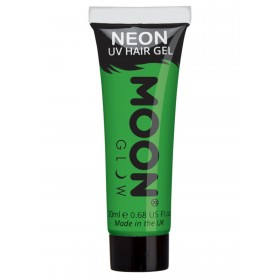 Moon Glow Intense Neon UV Hair Gel Green