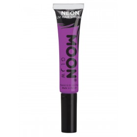 Moon Glow Intense Neon UV Hair Streaks Purple