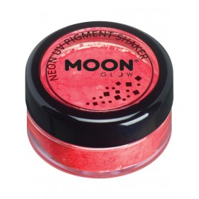 Moon Glow Intense Neon UV Pigment Shakers Red