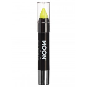 Moon Glow Pastel Neon UV Body Crayons Yellow