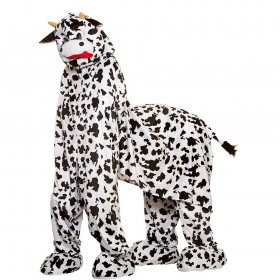 Deluxe Mascot - 2 Man Panto Cow Animal Costume