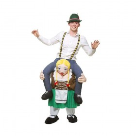 Carry Me® - Bavarian Beer Maid Costume (Oktoberfest)