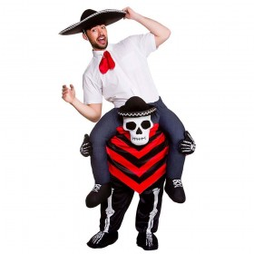 Carry Me® - Day of the Dead Hombre Halloween Costume