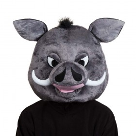 Warthog Head Adult Animal Masks