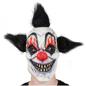 Crazy Clown Scary Halloween Masks