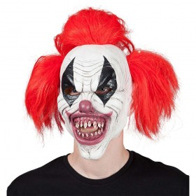 Killer Clown Scary Halloween Masks