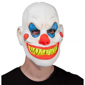 Neon U.V Clown Scary Halloween Masks