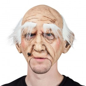 Creepy Old Guy Scary Halloween Masks