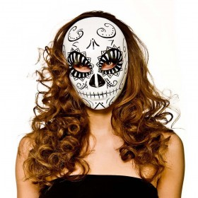 Deluxe Day of the Dead Scary Halloween Masks