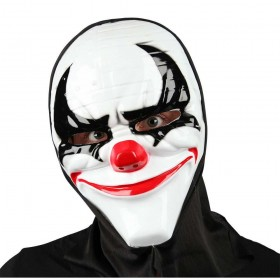 Freaky Clown Mask with Hood Halloween Masks
