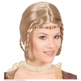 Renessaince Princess Wig - Fancy Dress (Royalty)