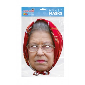 Queen Headscarf Celebrity Face Mask