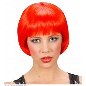 Rave Wig - Red - Fancy Dress