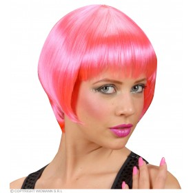 Rave Wig - Pink - Fancy Dress