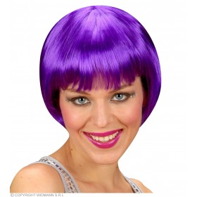 Rave Wig - Purple - Fancy Dress