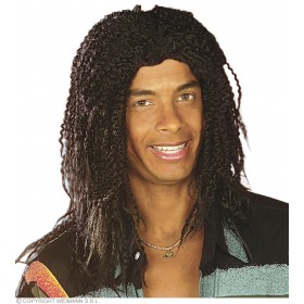 Rasta Wig Black In Box - Fancy Dress