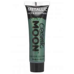 Cosmic Moon Metallic Face & Body paint Green