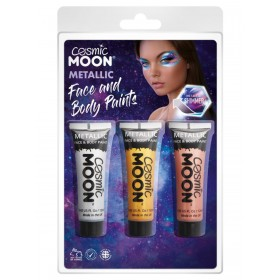 Cosmic Moon Metallic Face & Body Paint