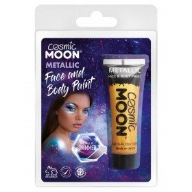 Cosmic Moon Metallic Face & Body Paint Gold