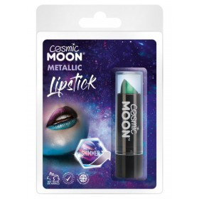 Cosmic Moon Metallic Lipstick Green