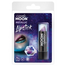 Cosmic Moon Metallic Lipstick Purple
