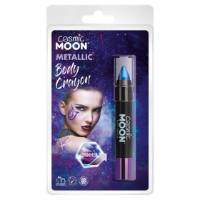 Cosmic Moon Metallic Body Crayons Blue