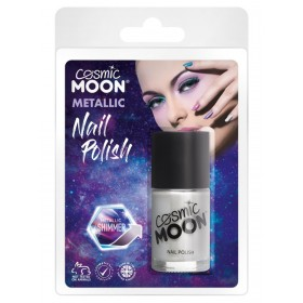 Cosmic Moon Metallic Nail Polish Silver