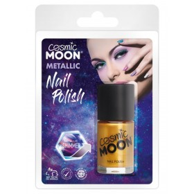 Cosmic Moon Metallic Nail Polish Gold
