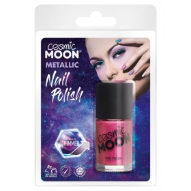 Cosmic Moon Metallic Nail Polish Pink