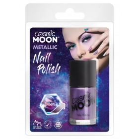 Cosmic Moon Metaillic Nail Polish Purple