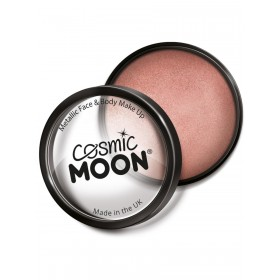 Cosmic Moon Metallic Pro Face Paint Cake Pots Rose