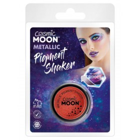 Cosmic Moon Metallic Pigment Shaker Red