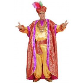 Mens Deluxe Arab Sultan Fancy Dress Costume