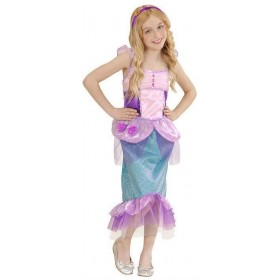 Girls Fairy Tale Mermaid Fancy Dress Costume