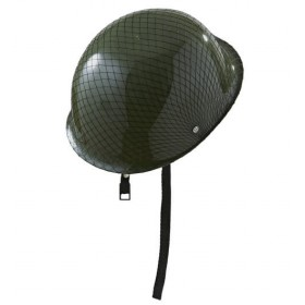 Adult's Platoon Soldier Army Helmet Fancy Dress Accessory