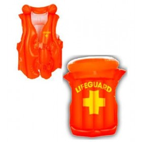 Inflatable Lifeguard Vest Fancy Dress Accessory