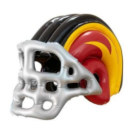 Child Size Inflatable American Football Helmet Fancy Dress Accessory