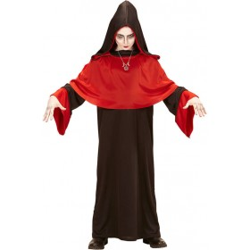 Boys Black/Red Doomsday Demon Halloween Fancy Dress Costume