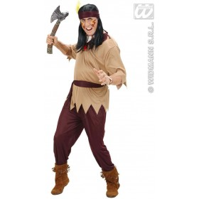 Native American Man Fancy Dress Costume Mens (Cowboys/Native Americans)