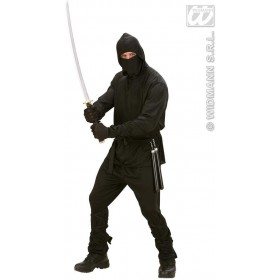 Ninja Fancy Dress Costume Mens (Ninja)