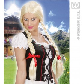 Long Plaits Wig - Blonde - Fancy Dress