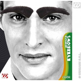 Eyebrows Adhesive Black - Fancy Dress