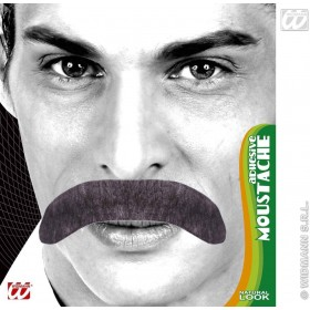Adhesive Gentleman Tash 3 Cols - Fancy Dress