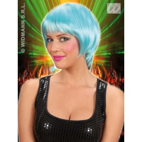 Rave Wig - Turquoise - Fancy Dress